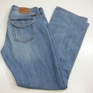 Lucky Brand Womans Decorative Flap Pocket Jeans 8
